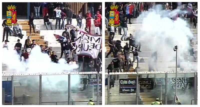 Ultras del Catania in manette: blitz della polizia. Venti i tifosi coinvoliti NOMI FOTO VIDEO