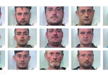 Caltagirone, stroncato traffico della droga: 16 arresti FOTO VIDEO
