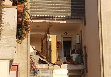 Catania, esplosione di gas in un appartamento di viale Moncada. Un ferito lieve