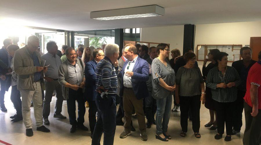 Inaugurato il centro vaccinazioni unico di Giarre