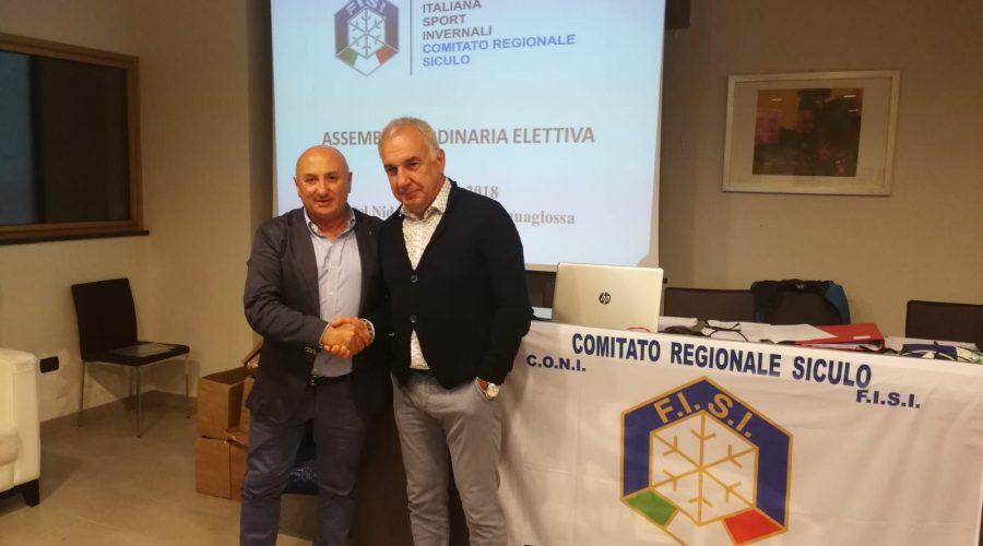 Il catanese Nuccio Fontanarosa confermato alla guida della Federazione Sport Invernali della Sicilia