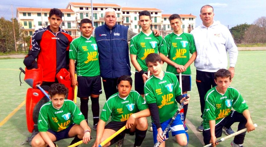"""Giardini Naxos: gli """"Under 16"""" della Raccomandata di hockey su prato alla finale nazionale"""
