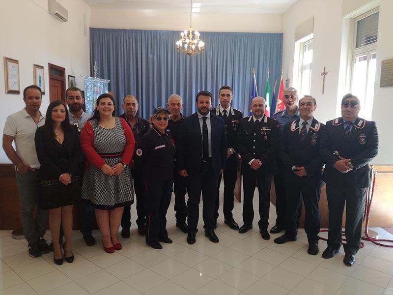 Santa Venerina, il comandante della Stazione dei Carabinieri Alessandro Calabretta trasferito a Giarre