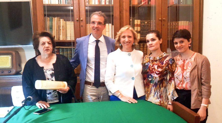 Acireale: interessante incontro culturale con le scrittrici Gabriella Calì e Laura Rizzo