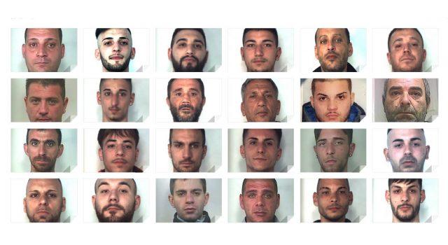 Catania, stroncato traffico della droga: 27 arresti. NOMI FOTO VIDEO