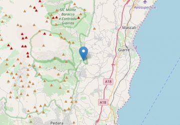 Tre scosse di terremoto stamane: la più intensa con epicentro a Milo