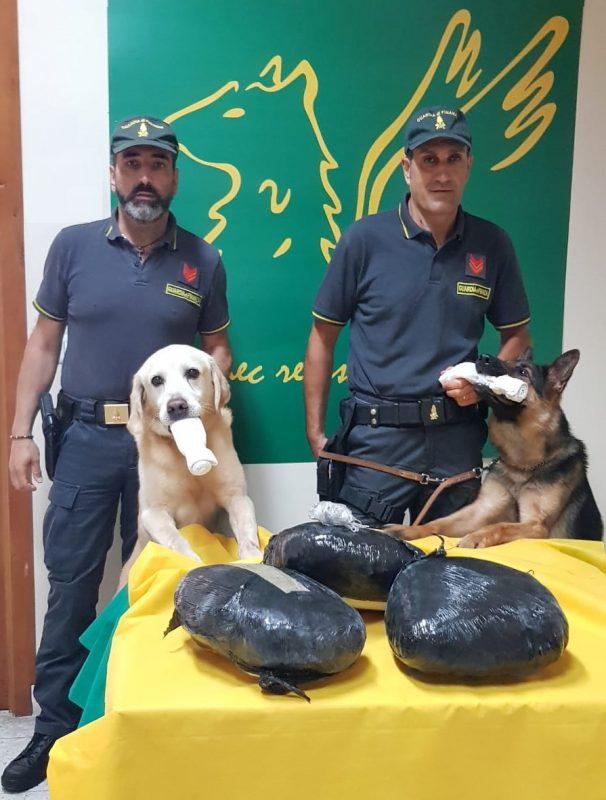 """Catania, fermata dalle Fiamme gialle nigeriana con 7 chili di """"erba"""""""
