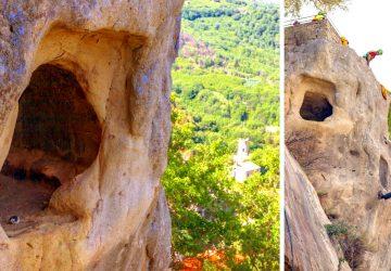 Castiglione di Sicilia e le tombe nella roccia del Castello di Lauria