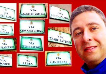 """Francavilla di Sicilia: """"ritrovate"""" dopo un decennio le 114 targhe artistiche di toponomastica"""