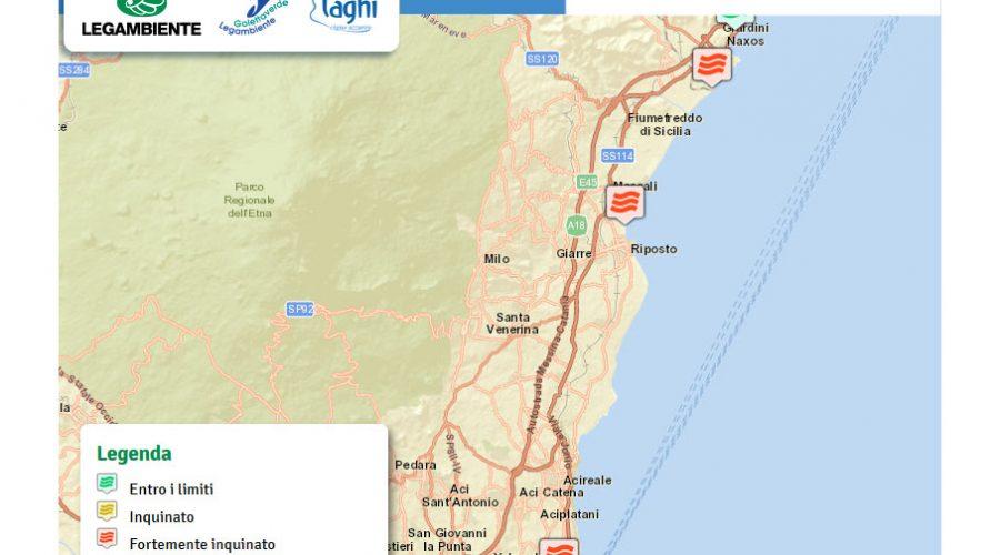 Monitoraggio di Goletta Verde: su 26 punti monitorati, 17 fortemente inquinati LE ZONE INTERESSATE