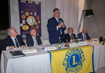 Salvino Barbagallo nuovo presidente del Lions club Giarre-Riposto