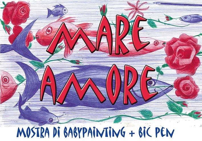"""A Torre Archirafi """"MareAmore"""", una mostra di 10 piccoli pittori dai 3 ai 9 anni"""