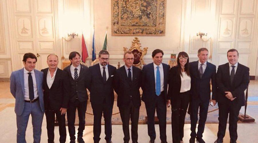 Catania, Salvo Pogliese presenta la nuova Giunta municipale