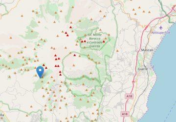 Scosse di terremoto con epicentro Ragalna e Zafferana Etnea. Avvertite anche nella zona jonico-etnea