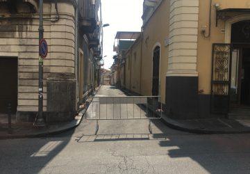 Giarre, ancora interdetta la via Pittella. Diffidati due proprietari di immobili