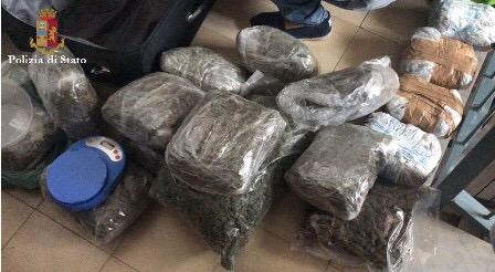 Catania, arrestata spacciatrice sul viale Grimaldi. Nacondeva oltre 8 kg di droga