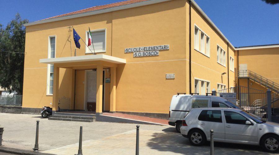 Giarre, avviati interventi manutentivi al plesso Don Bosco. Domani ripresa delle lezioni VIDEO