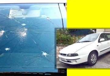 """""""Giallo"""" di Ferragosto a Francavilla di Sicilia: misterioso atto vandalico ai danni di un'autovettura"""