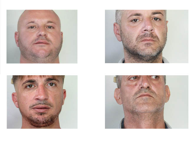 Catania operazione nuovo corso 2 4 arresti for Corso arredatore d interni catania