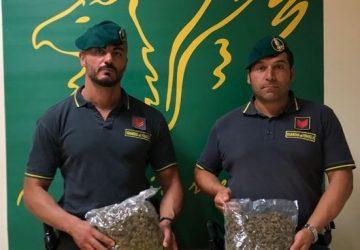 Beccato sull'asse dei servizi di Catania con 1 kg di marijuana: arrestato corriere