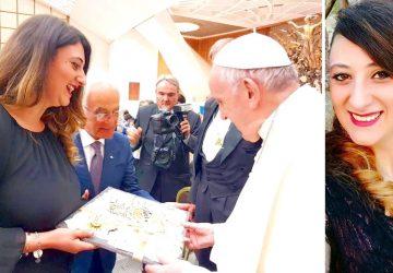 Da Francavilla di Sicilia un artistico regalo per Papa Francesco
