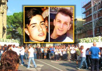 Francavilla di Sicilia: una folla oceanica per l'ultimo saluto ai fratelli Siracusa