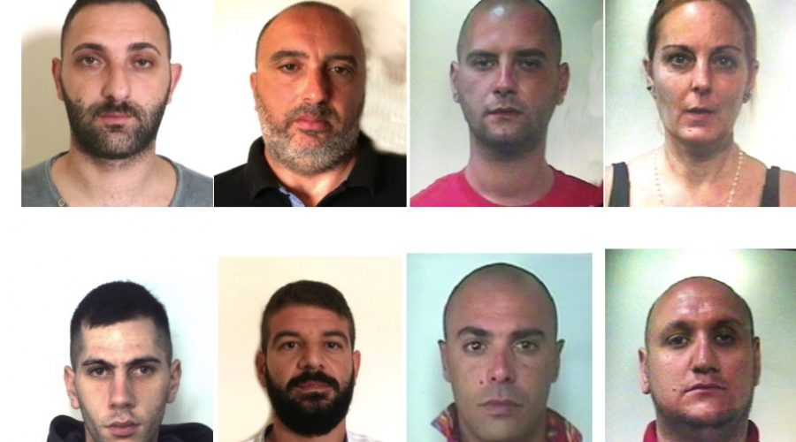"""Catania, operazione """"Salette"""", duro colpo al clan Cappello  FOTO VIDEO"""