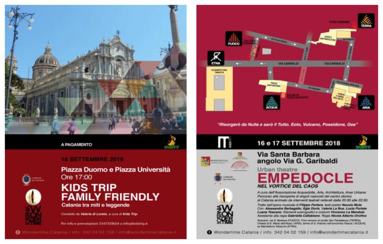 WonderTime di Catania: domenica ricca di appuntamenti