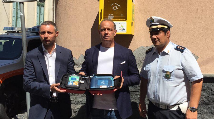 A Calatabiano un defibrillatore per la sicurezza dei cittadini