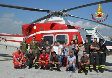 Catania, delegazione di studenti in visita nella sede Aeroportuale dei Vigili del Fuoco