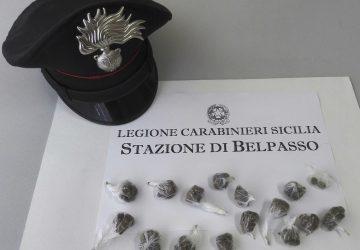 Belpasso, spacciava dai domiciliari: arrestato 18enne