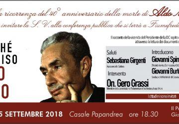 Fiumefreddo, conferenza sulla figura di Aldo Moro