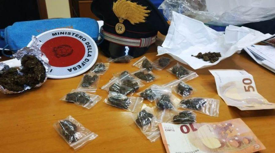 Riposto, studente spacciava droga ai coetanei di un altro istituto scolastico: Arrestato.