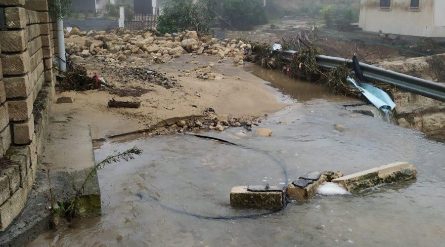 Nuova bomba d'acqua nella piana di Catania. Ancora allagamenti