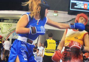 Kick boxing: la 16enne giarrese Sveva Scandurra sul tetto del mondo