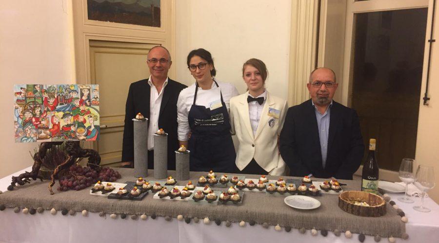 """L'Ipsseoa di Giarre primo classificato a """"Le scale del gusto"""" a Ragusa Ibla"""