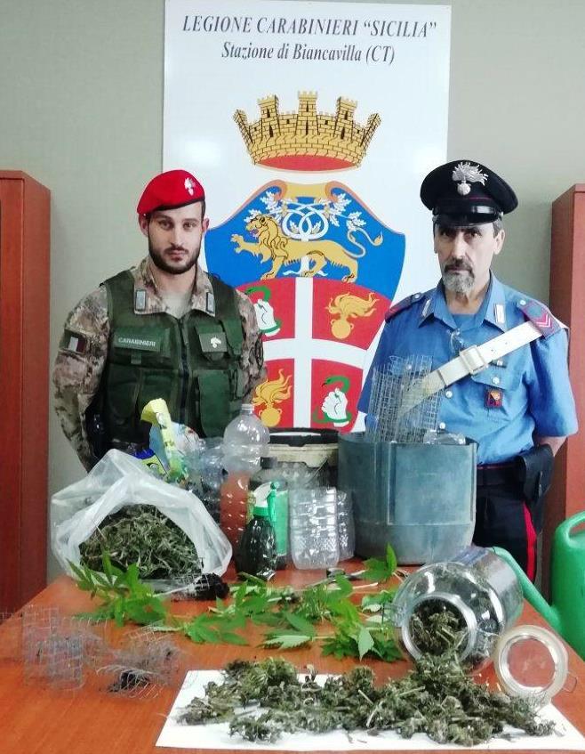 Biancavilla, spacciava droga nella sala giochi: arrestato