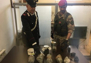 Francavilla di Sicilia: arrestato giovane pusher. Beccato con 1 kg e 230 grammi di marijuana