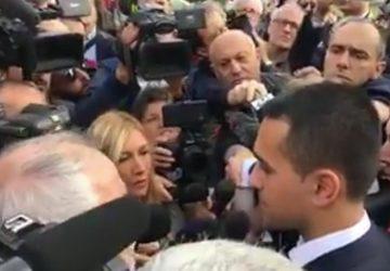 Paternò, visita del vice premier Luigi DI Maio: 5mld per anti-sisma e danni maltempo