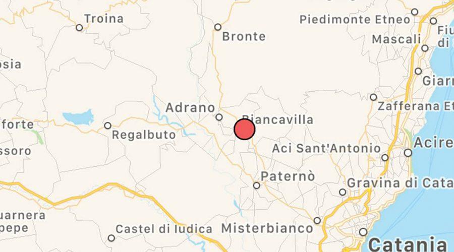 Terremoto: altra scossa con epicentro Biancavilla