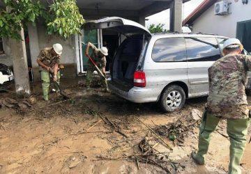 """Anche la Brigata """"Aosta"""" in soccorso delle popolazioni colpite dall'alluvione nel Catanese. Salvate 7 persone"""