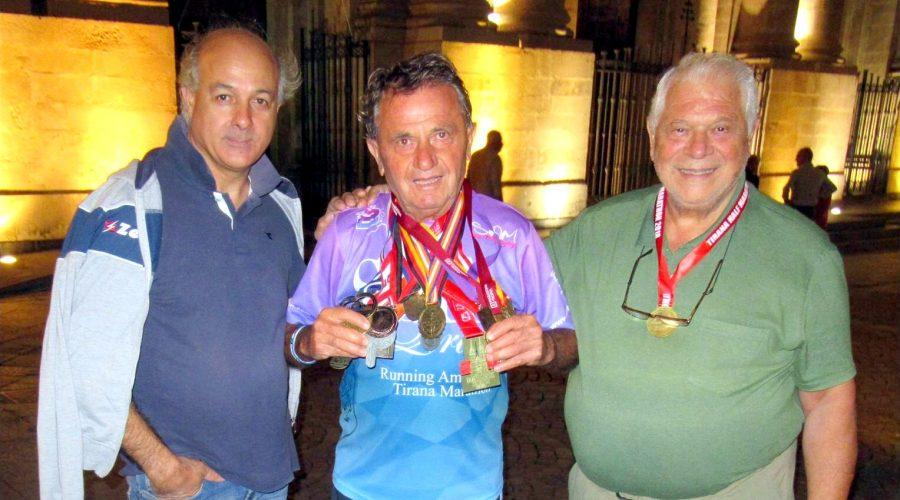 A Riposto uno degli atleti più anziani del mondo: l'albanese Sotir Qiriaqi