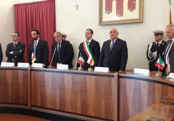Randazzo, visita istituzionale di una delegazione dell'Ossezia del Sud