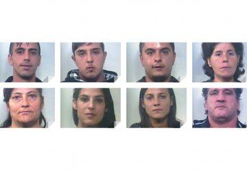 """Caltagirone, stroncato traffico droga. Operazione """"Panta Rei"""": 8 arresti NOMI FOTO VIDEO"""