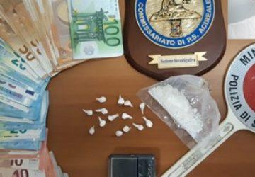 Acireale, un arresto per droga