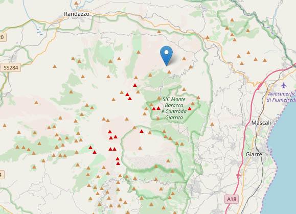 Ancora terremoti nel catanese. La più intensa a Linguaglossa