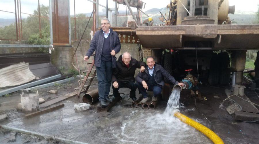 """Randazzo, aumentata la captazione d'acqua dal pozzo """"spia"""" Esa, in contrada S. Caterina"""