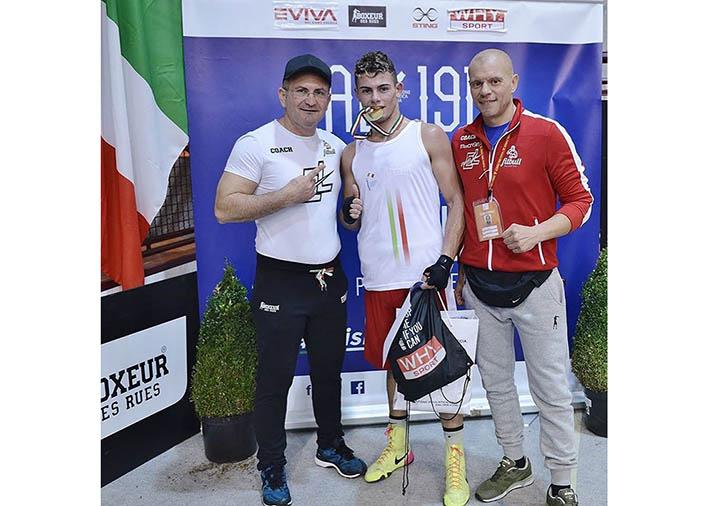 Boxe: Salvatore Cavallaro medaglia d'oro ai campionati italiani categoria 69 kg