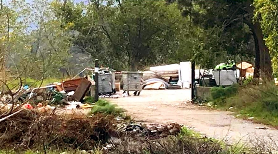 Graniti: sequestrata l'isola ecologica comunale di contrada Olivitello