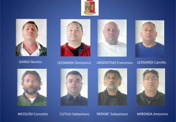 Acireale smantellata gang dedita ai furti in appartamento: 8 arresti